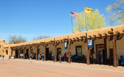 Mike's Blog: The Heart of Santa Fe, The Plaza