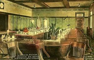 Fred Harvey Lunchroom, Santa Fe Hotel - Canadian, TX