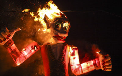 The Burning of Zozobra (a.k.a. Old Man Gloom)