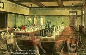 Fred Harvey Lunchroom, Santa Fe Hotel, Canadia, Texas